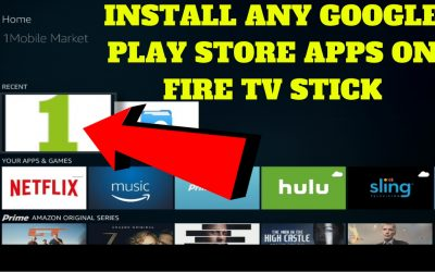 INSTALL ANY GOOGLE PLAY STORE APPS ON FIRE TV STICK FOR FREE !!!AMAZING APK'S!!!