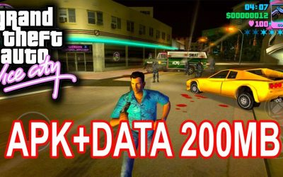 GTA Vice City Android  200MB Apk Data Free Download 2019 By CaptainTuts