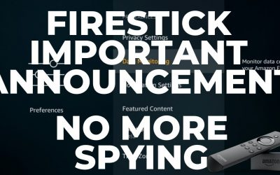 IMPORTANT!! ANNOUCEMENT!! KODI & APK USERS ON FIRESTICK PLEASE DUE THIS