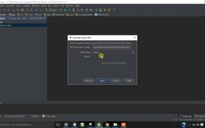 How To Create Signed APK Using Android Studio