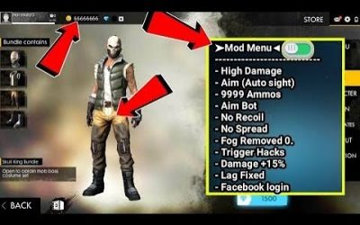 Free Fire Hack 1.44.0 / Mod Apk 1.44.0 / Free Fire Mod Menu 1.44.0 / For Android No Root 2020