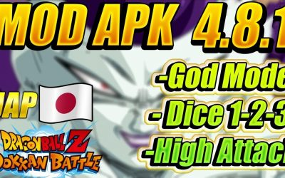 DOKKAN BATTLE MOD APK 4.8.1 JAPANESE 💥 DRAGON BALL Z DOKKAN BATTLE MOD APK