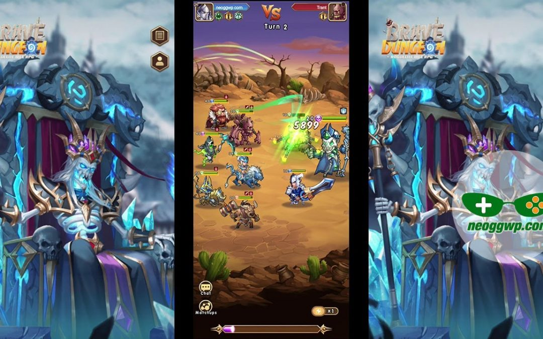 Brave Dungeon: Roguelite IDLE RPG (Official) (Android iOS APK) – Role Playing Gameplay Chapter 1-2
