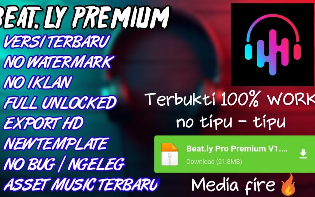 DOWNLOAD APK BEAT.LY PRO MOD NO WATERMARK TERBARU | BEAT.LY PREMIUM APK | BEAT.LY MOD APK 2020