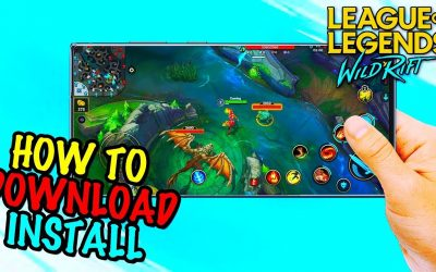 How To Download and Install League of Legends: Wild Rift (APK+OBB)