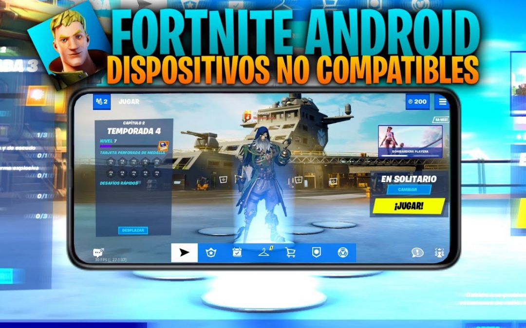 Fortnite Mobile v14.10.0 APK 60 FPS (Apk Modificada) / FORTNITE MOBILE DISPOSITIVOS NO COMPATIBLES