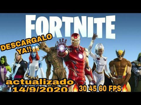 🔥como descargar FORTNITE apk 45 60 fps🔥 no compatible| link MEDIAFIRE