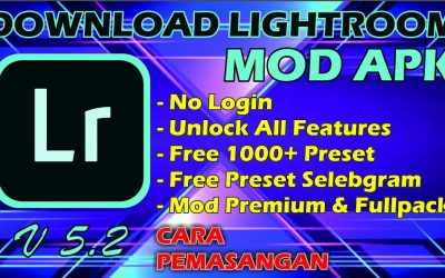 LIGHTROOM MOD APK VERSI 5.2.1 + 1000 Preset | Download Lightroom mobile premium apk update terbaru