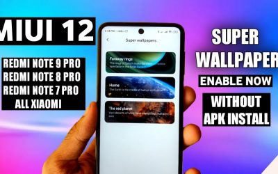 MIUI 12 Super Wallpaper Enable Without Apk No Lag | MIUI 12 Super Wallpaper Enable Now