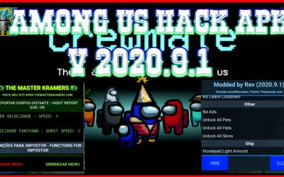Among US 2020.9.1 hack menú apk Android