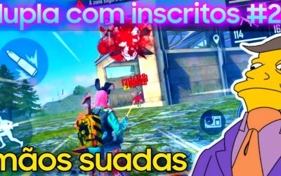 Free Fire – dupla com inscritos #26