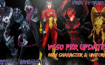 [Early access] V6.5 pre update apk | New uniform and character | Symbiote update | Crystal Coupon