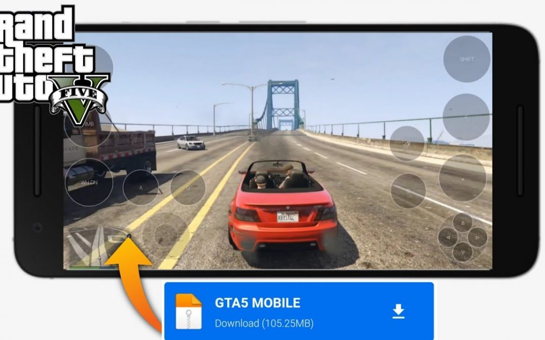 How To Download GTA 5 On Android || Install GTA 5 Apk+Obb 2020 || Techno Gamerz GTA 5
