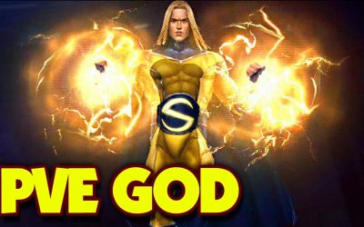 T-3 SENTRY IS PVE GOD (APK Test) – MARVEL Future Fight