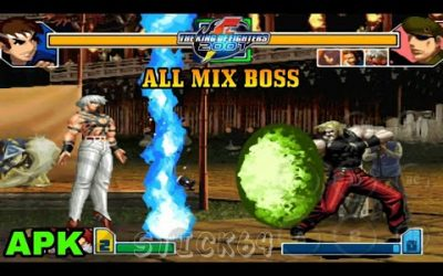 Nuevo King Of Fighters 2001 ALL MIX BOSS APK + ROM LIBRE PARA ANDROID Y PC
