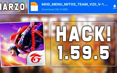 FREE FIRE HACK APK 1.59.5 | MOD MENU | Descarga MEDIAFIRE | VERSION 2021