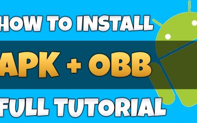 How to install APK and OBB in any Android Device