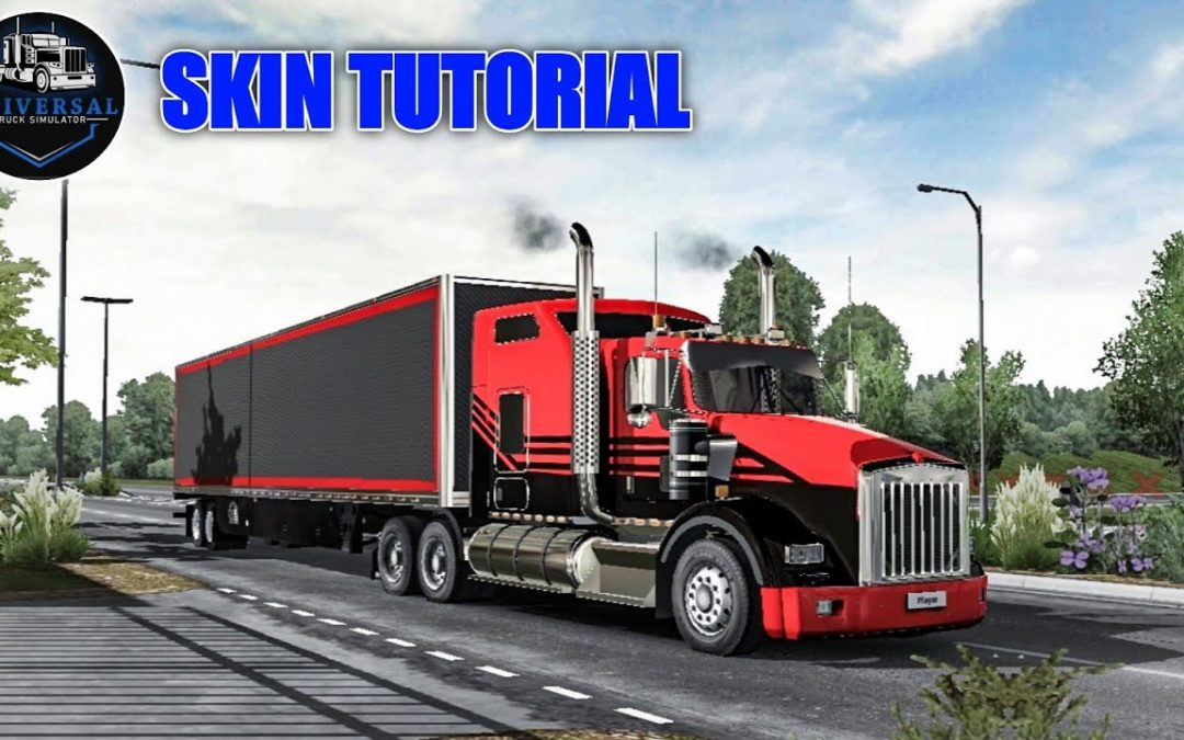 How to Make your own Skins | Universal Truck Simulator Test APK | Tips and Tricks