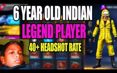 6 yr OLD INDIAN LEGEND PLAYER || FREE FIRE TIPS AND TRICKS TAMIL || RUN GAMING TAMIL