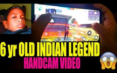 6 yr OLD INDIAN LEGEND PLAYER IN FREE FIRE || RUN GAMING TAMIL|| FREE FIRE TRICKS AND TIPS