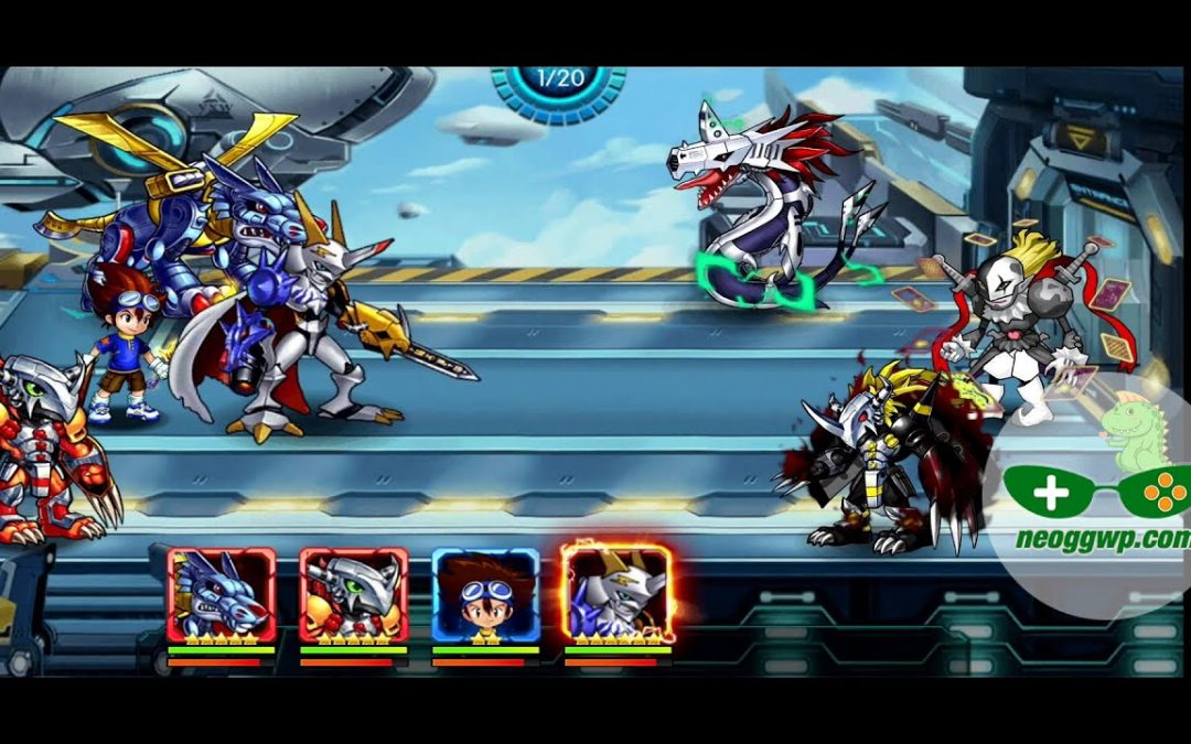 Digimon:Ultimate Evolution (Full Release) (Android iOS APK) – Role Playing Gameplay Chapter 1-4