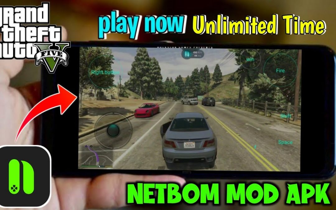 NETBOOM MOD APK 2021 | Play Real GTA5 on Android | 100℅ Working | Tricky guy