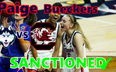 Paige Bueckers is SANCTIONED. F YR Game Files. VS SC 2/8/21